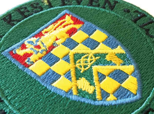 Badge St Mawgan Embroidery Company